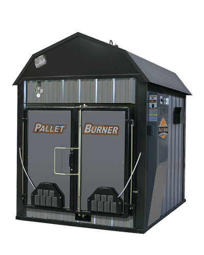Pallet Burner outdoor furnace