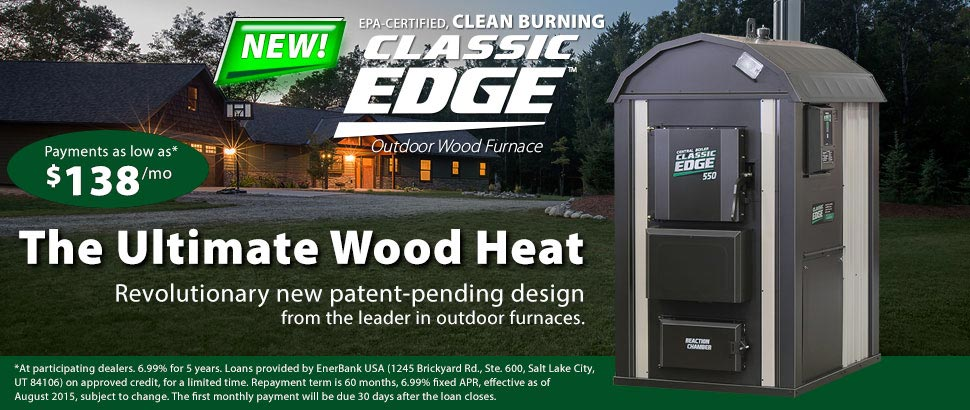 Central Boiler Classic Edge buy and finance as low as $138 per month