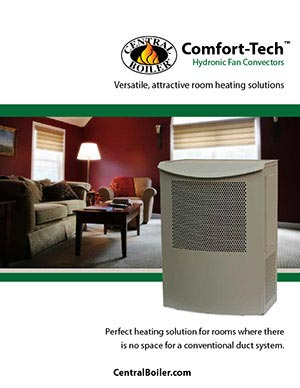 Central Boiler hydronic fan convector brochure