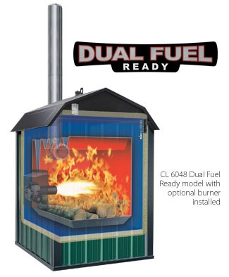 Central Boiler Dual Fuel DF Ready Models