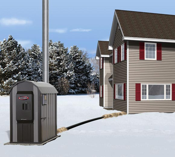 Install your Central Boiler furnace in the winter is you need to