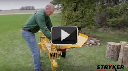 Stryker log splitters