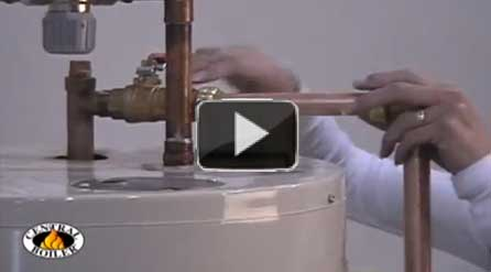 Central Boiler push fit fittings make plumbing easy