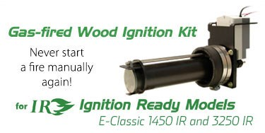 Gas-fired Wood Ignition Kit