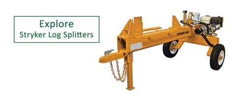 Explore Stryker log splitters
