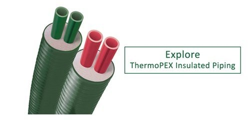 Explore ThermoPEX insulated piping