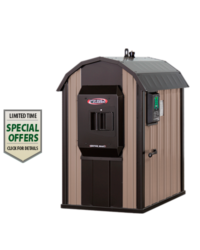 EClassic Outdoor Wood Furnace Central Boiler